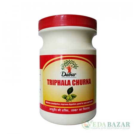 Трифала Чурна (Triphala Churna), 120 гр, Дабур (Dabur) фото
