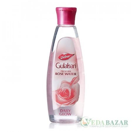Розовая вода Гулабари (Gulabari Premium Rose Water), 250 мл, Дабур (Dabur) фото