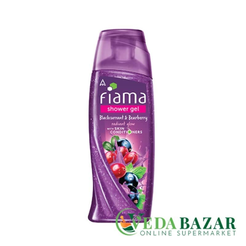 Гель для душачерная Смородина и Толокнянка (Blackcurrant and Bearberry shower gel), 250 мл, Фиама (Fiama) фото