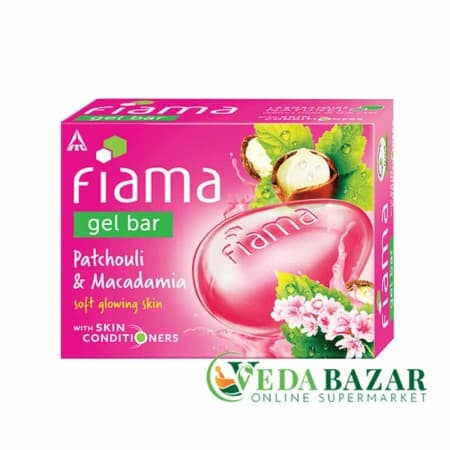 Мыло гелевое Пачули и Макадамия (Patchouli & Macadamia Gel Soap), 125 мг, Фиама (Fiama) фото