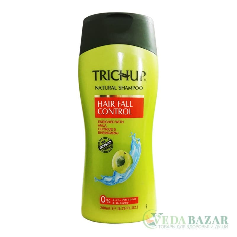 Шампунь для волос Тричуп (Trichup) Hair Fall Control, 200 мл, Васу (Vasu)